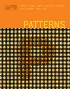 Reading Bridge — Second Edition: Patterns Level 1 Book 2