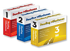 Reading Milestones Fourth Edition -  Level 1-3 Combo