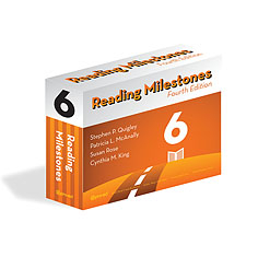 Reading Milestones Fourth Edition Level 6 Package - Orange