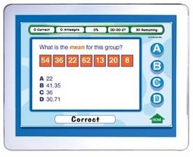 Mastering Math Skills - Grade 6 Interactive Whiteboard CD - Site License