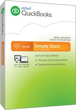 QuickBooks Online Simple Start 2015 for Windows