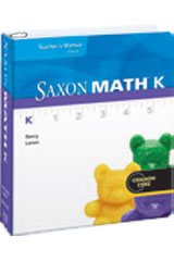 Saxon Math K Teacher Edition eTextbook ePub 1-year 2012