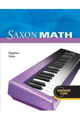 Saxon Math Intermediate 4 Student Edition eTextbook ePub 1-year 2012