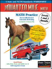 The Quarter Mile Math Bundle: K-6