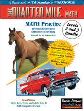 The Quarter Mile Math Bundle: 4-9