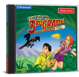 ClueFinders 3rd Grade Adventures - Mac / Win Hybrid