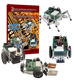 Exploring Robotics with Boe-Bot Engineering Expansion Kit - Classroom 10 Pack
