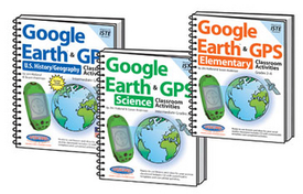 Google Earth & GPS Activities Bundle 3