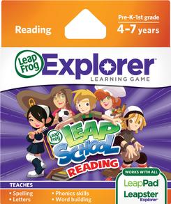 LeapFrog LeapPad Learning Game: LeapSchool Reading