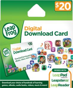 LeapFrog App Center $20 Download Card