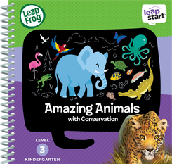 LeapFrog LeapStart Amazing Animals Activity Book
