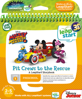 LeapFrog LeapStart 3D Mickey and the Roadster Racers