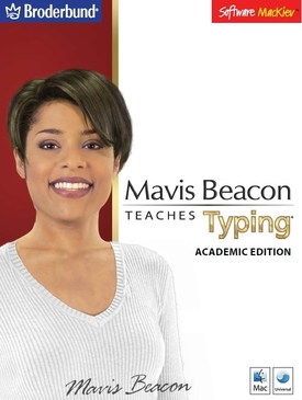 Mavis Beacon Teaches Typing - Academic Mac Edition