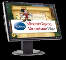 Mickey's Typing Adventure Web