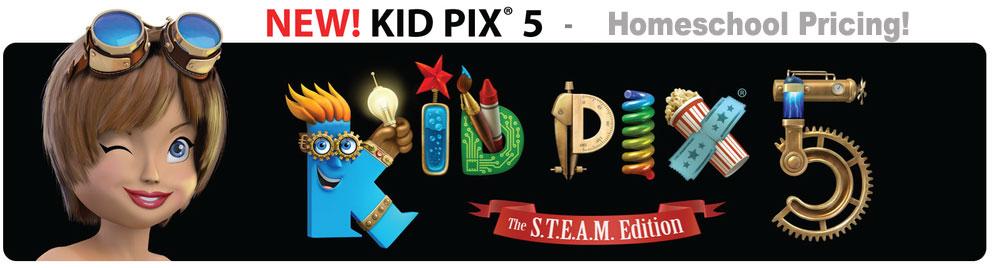 Homeschool KID PIX 5