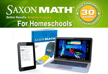Saxon Math for Homeschool image
