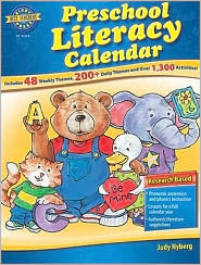 Preschool Literacy Calendar