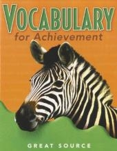Great Source Vocabulary for Achievement Student Edition  Grade 5   Language Arts / Reading