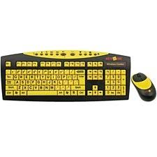 Keys-U-See Wireless Keyboard & Mouse | Special Education