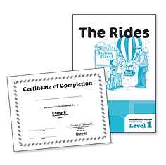 Edmark Reading Program: Level 1 Second Edition The Rides & Certificates   Special Education