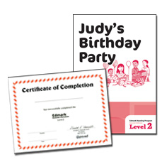 Edmark Reading Program: Level 2 Second Edition Judy's Birthday Party | Special Education