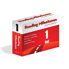 Reading Milestones Fourth Edition Level 1 Package - Red | Special Education