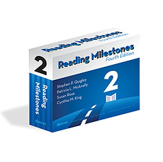Reading Milestones-Fourth Edition, Level 2 (Blue) | Special Education