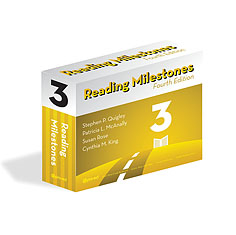 Reading Milestones-Fourth Edition, Level 3 (Yellow) | Special Education