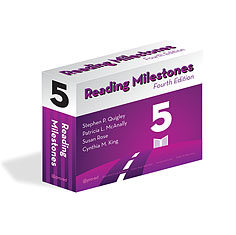 Reading Milestones Fourth Edition Level 5 Package - Purple | Special Education