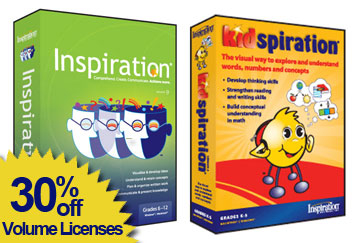 Inspiration special 30% off Volume licenses