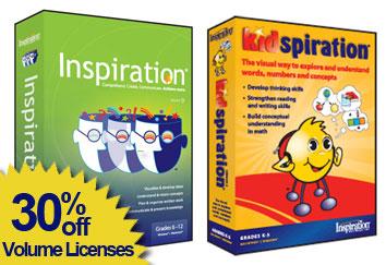 Inspiration special 30% off Volume licenses