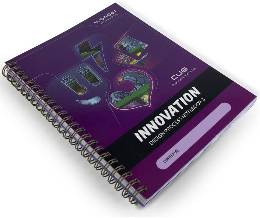New! Cue Applied Robotics Curriculum, Unit 3: Innovation - Student Notebook | Wonder Workshop