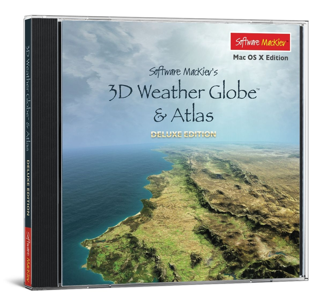 3D Weather Globe & Atlas Deluxe Edition | Social Studies