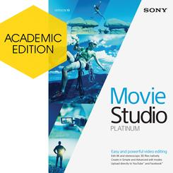 Movie Studio Platinum 13 Academic | Music Education