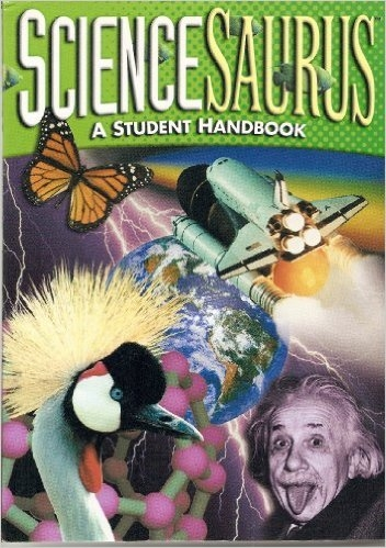 Great Source ScienceSaurus Handbook Hardcover Grade 6 - 8 | Language Arts / Reading