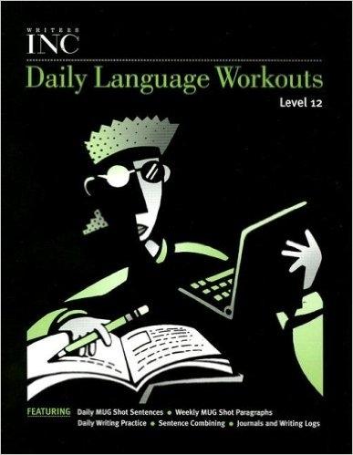 Great Source Writer's Inc. Daily Language Workout Grade 12   Language Arts / Reading