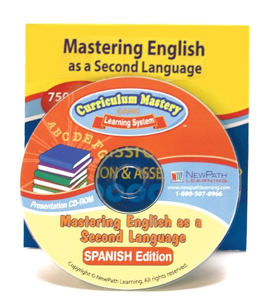 Mastering English as a Second Language Interactive Whiteboard CD - Site License | ELL