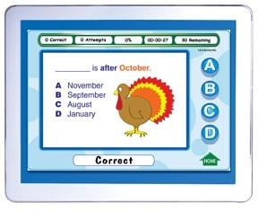 Mastering Math Skills - Grade 2 Interactive WhiteboardCD - Site License | Math