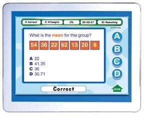 Mastering Math Skills - Grade 6 Interactive Whiteboard CD - Site License | Math