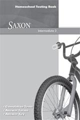 Saxon Math Intermediate 3 Testing Book | Math