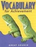 Great Source Vocabulary For Achievement Teacher Edition Grade 6 | Language Arts / Reading