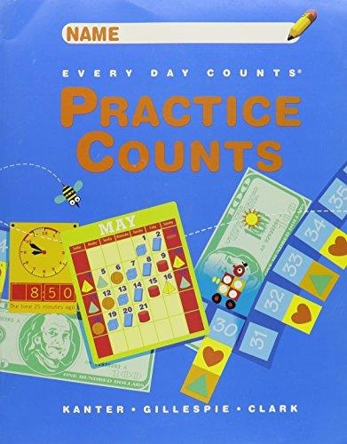 Great Source Every Day Counts: Practice Counts Student Workbook  Grade 4 | Language Arts / Reading