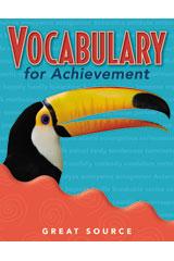 Vocabulary for Achievement Teacher's Edition Grade 4 | Language Arts / Reading