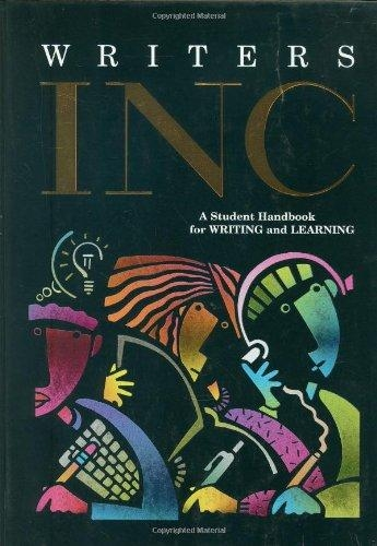 Write Source Handbook Hardcover   Language Arts / Reading