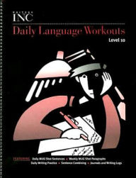 Great Source Writer's Inc. Daily Language Workout Grade 10 | Language Arts / Reading