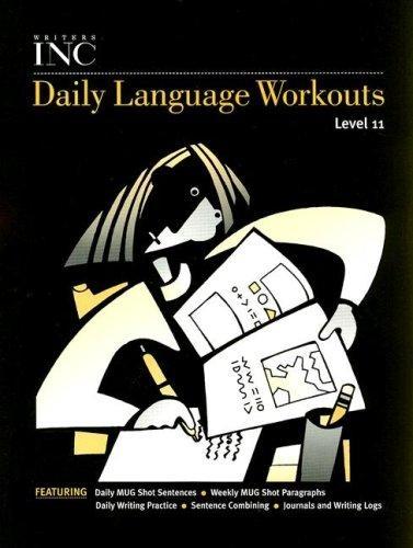Great Source Writer's Inc. Daily Language Workout Grade 11 | Language Arts / Reading