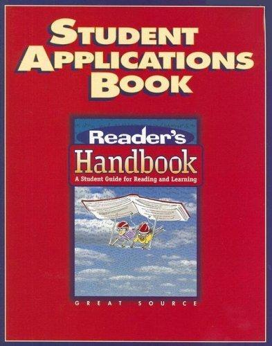 Reader's Handbooks Student Application Book Grade 8 | Language Arts / Reading
