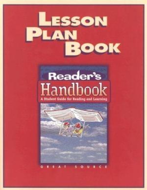 Great Source Reader's Handbooks Lesson Plan Book | Language Arts / Reading