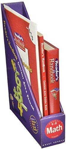 Great Source Reader's Handbooks Content Handbook Grades 6-8 | Language Arts / Reading
