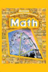ACCESS Math Teacher Edition Grades 5-12 | Math